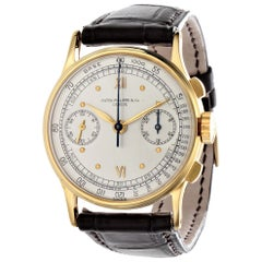 Patek Philippe 130J Vintage Chronograph Watch, Circa 1940