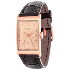Patek Philippe 1442R Rectangular Watch