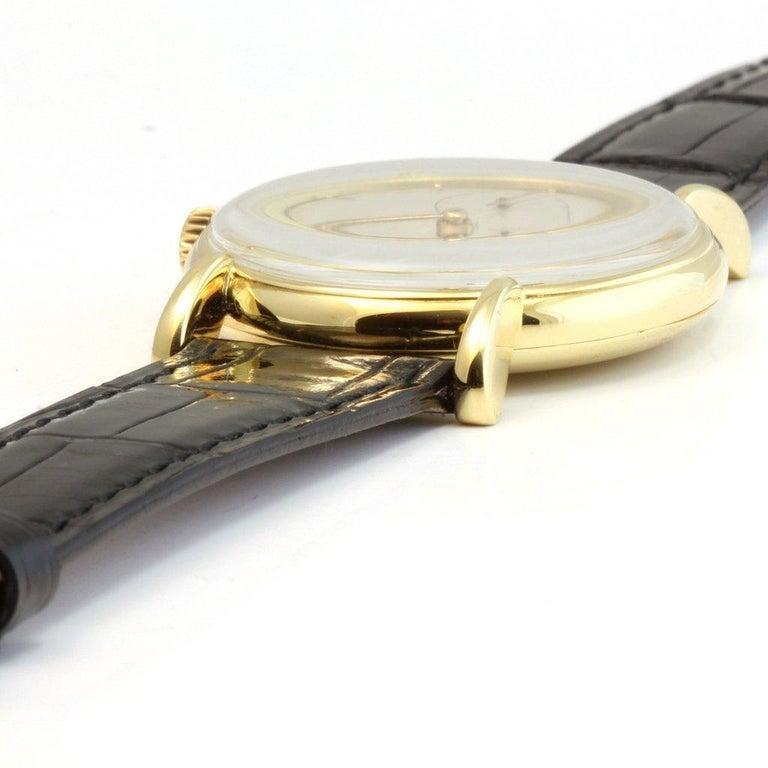 Patek Philippe 1543J Vintage Calatrava Watch, circa 1947 For Sale 4