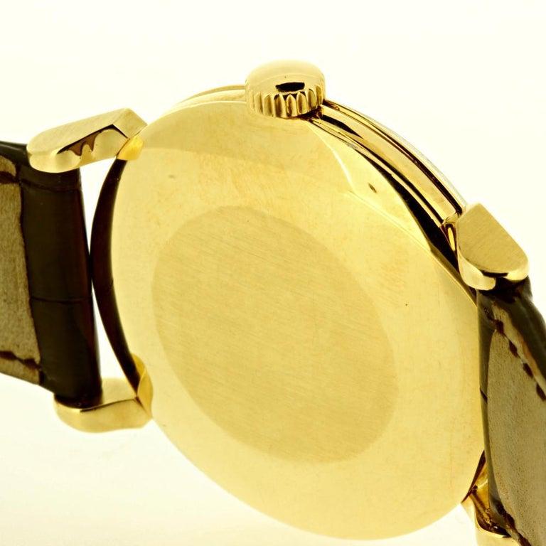Patek Philippe 1578J Large Vintage Calatrava Watch, circa 1955 For Sale 1
