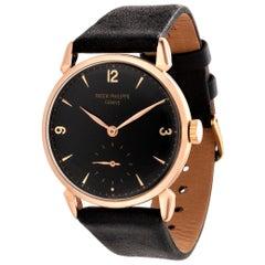 Patek Philippe 1578R Large Rose Gold Calatrava Watch 36mm Circa 1948