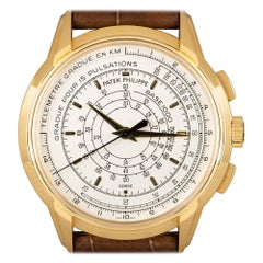 Patek Philippe 175th Anniversary Chronograph Yellow Gold Silver Opaline Dial