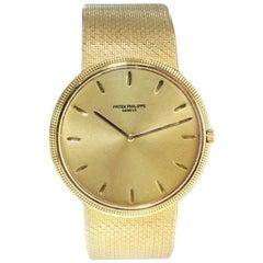 Patek Philippe 18 Karat Gold Automatic Winding Bracelet Dress Watch From 1971