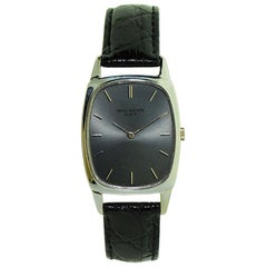 Patek Philippe 18 Karat Gold Tonneau Shape Wristwatch, circa 1971 or 1972