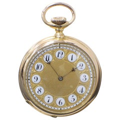 Patek Philippe 18 Karat Rose Gold Pocket Watch 89578 Very Rare, circa 1893