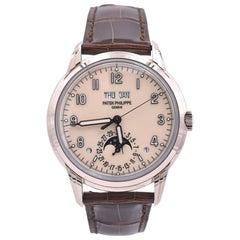 Patek Philippe 18 Karat White Gold Grand Complications Watch Ref. 5320G