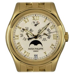 Patek Philippe 18 Karat Yellow Gold Annual Calendar Moonphase 5036J
