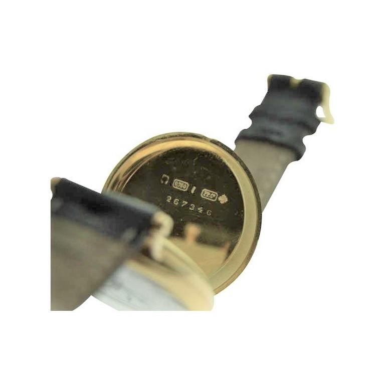Patek Philippe 18 Karat Yellow Gold Art Deco Wristwatch, circa 1905 For Sale 9