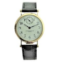 Patek Philippe 18 Karat Yellow Gold Art Deco Wristwatch, circa 1905