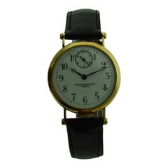 Patek Philippe 18 Karat Yellow Gold Art Deco Wristwatch, circa 1905
