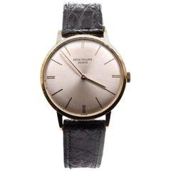 Patek Philippe 18 Karat Yellow Gold Calatrava Watch Ref. 3468