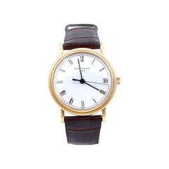 Patek Philippe 18 Karat Yellow Gold Calatrava Watch Ref. 3802