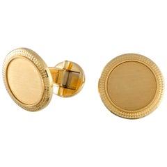 Patek Philippe 18 Karat Yellow Gold Cufflinks