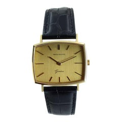 Patek Philippe 18 Karat Yellow Gold Cushion Shaped Watch, circa 1960s