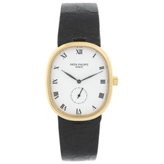 Patek Philippe 18 Karat Yellow Gold Ellipse Men's Watch Ref. 3978