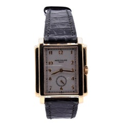 Patek Philippe 18 Karat Yellow Gold Gondolo Watch Ref. 5024