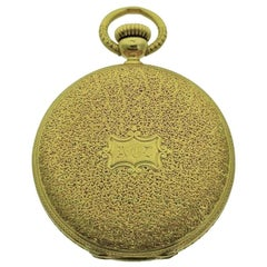 Patek Philippe 18 Karat Yellow Gold Hunters Case Pendant Watch, circa 1860s