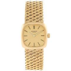 Patek Philippe 18 Karat Yellow Gold Vintage Coctail Ladies Watch 4179