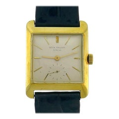 Patek Philippe 18k Gold Manual Wind Wristwatch