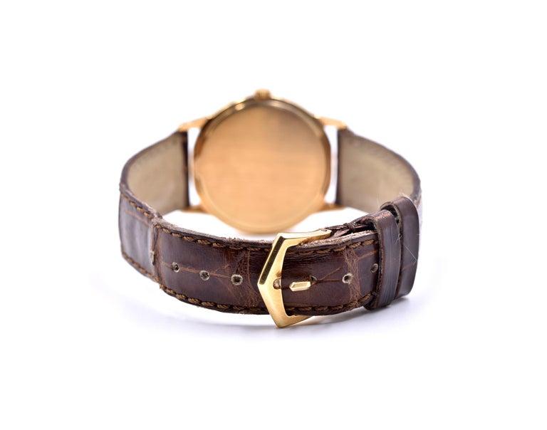 Patek Philippe 18 Karat Rose Gold Calatrava Watch Ref. 3601 In Excellent Condition For Sale In Scottsdale, AZ