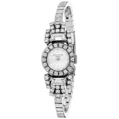 Patek Philippe 18k White Gold and Diamond Watch