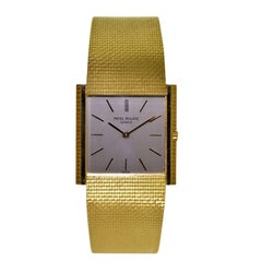 Patek Philippe Gold Ultra Thin Bracelet Watch circa 1966 Anyone Turning 52 Soon?