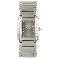 Patek Philippe 24 4910/10A Ladies Diamond Watch