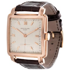 Patek Philippe 2436R Extra Large Vintage Square with Large Fancy Lugs circa 1946