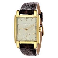 Patek Philippe 2443J Rectangular Watch, Circa 1953