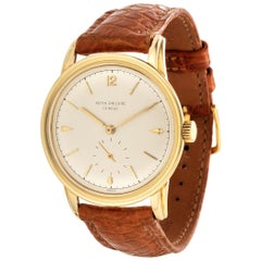Patek Philippe 2452J Calatrava Watch 35mm Circa 1951