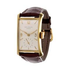 Patek Philippe 2468J Hour Glass Case Watch