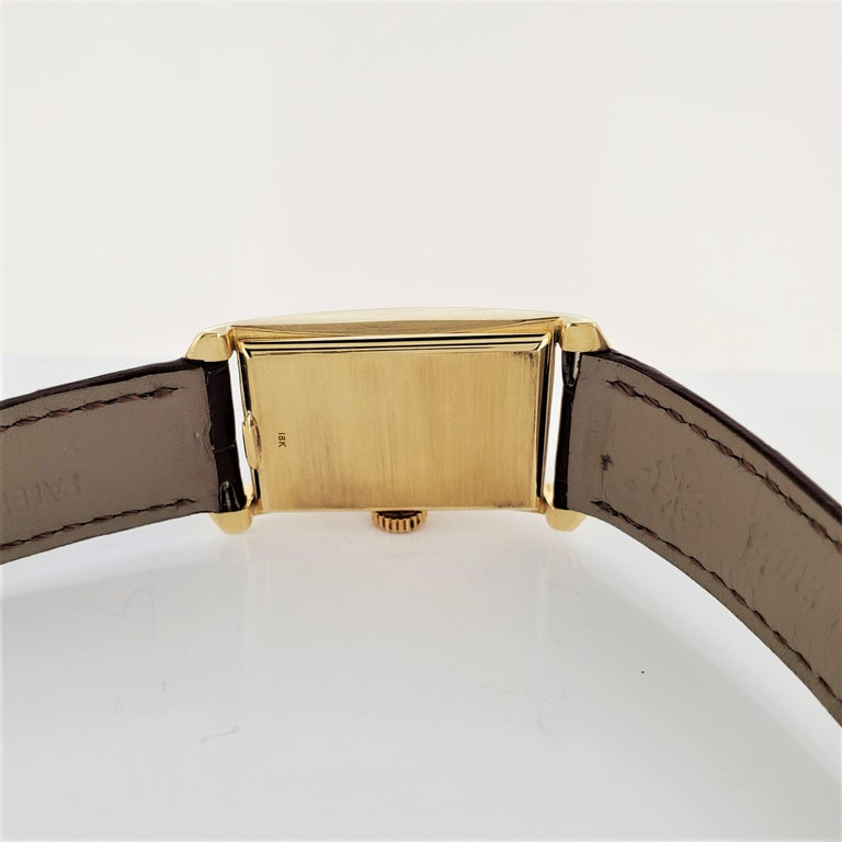 Patek Philippe 2468J Hour Glass Case Watch For Sale 4