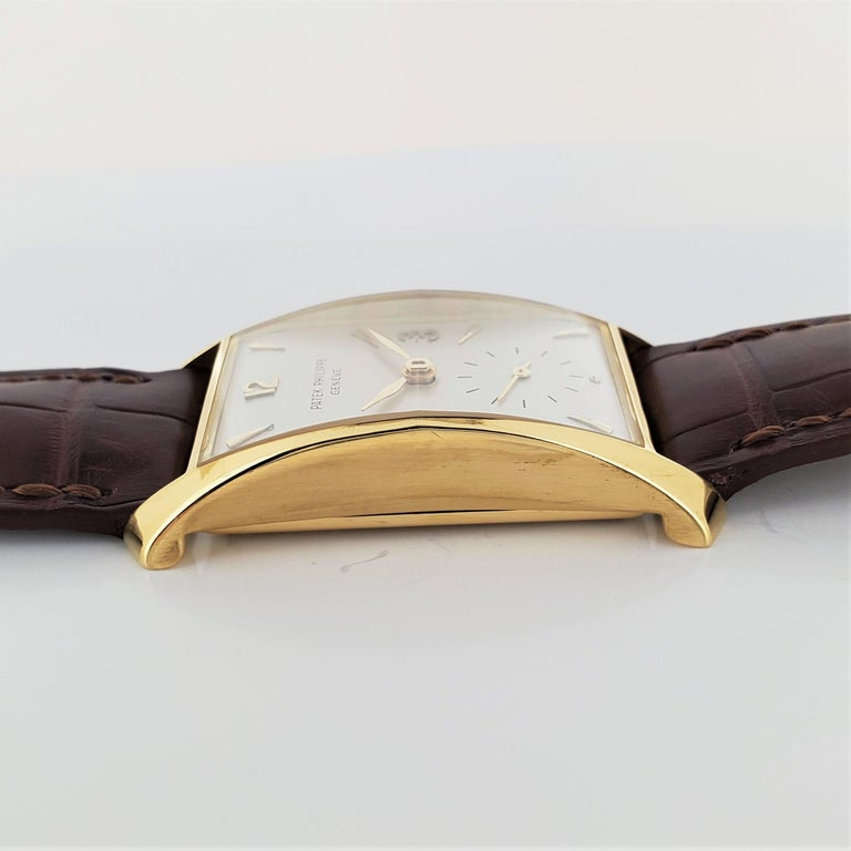 Patek Philippe 2468J Hour Glass Case Watch For Sale 1