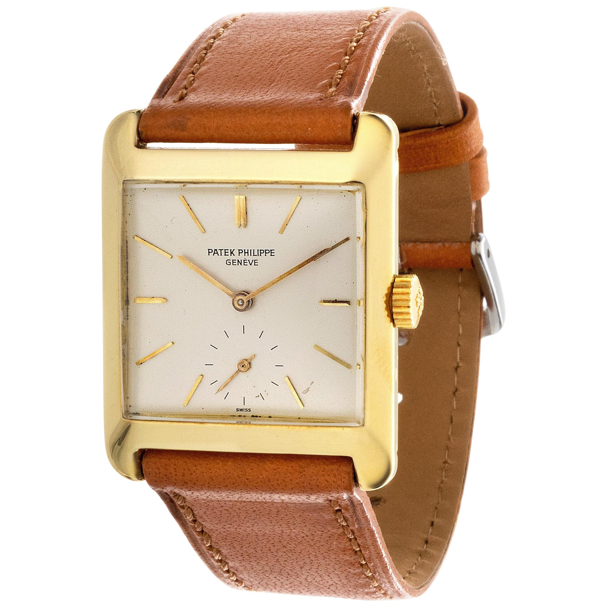 Patek Philippe 2488J Manual Wind Watch