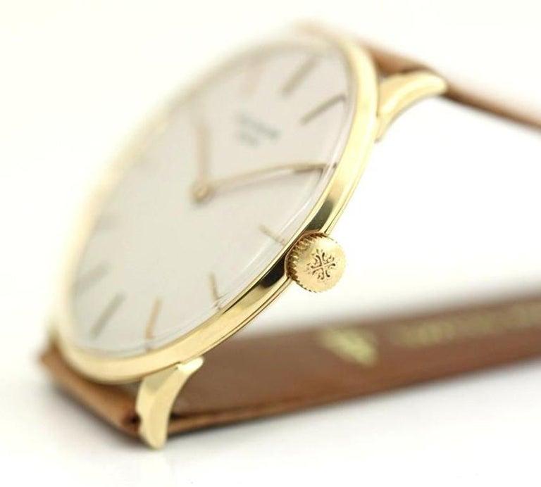 Modern Patek Philippe 2573-1J Vintage Calatrava Watch, circa 1965 For Sale