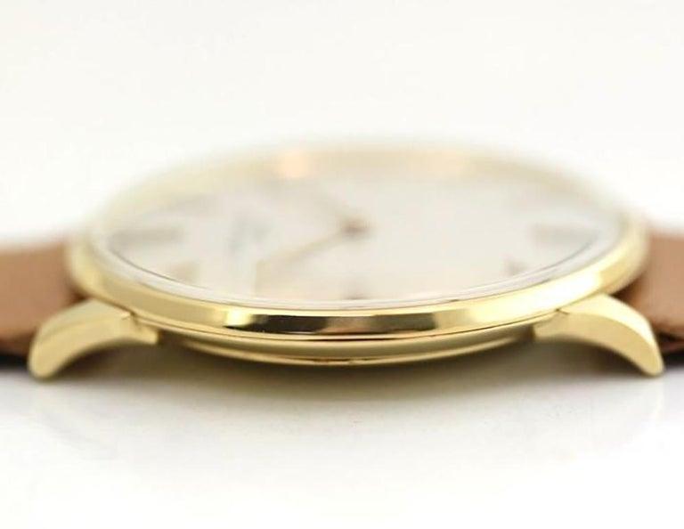 Women's or Men's Patek Philippe 2573-1J Vintage Calatrava Watch, circa 1965 For Sale