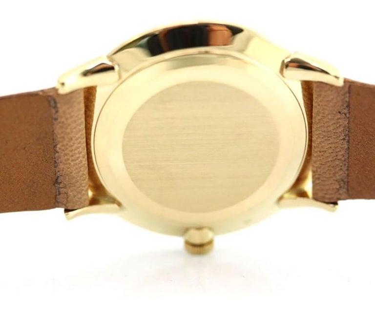 Patek Philippe 2573-1J Vintage Calatrava Watch, circa 1965 For Sale 1