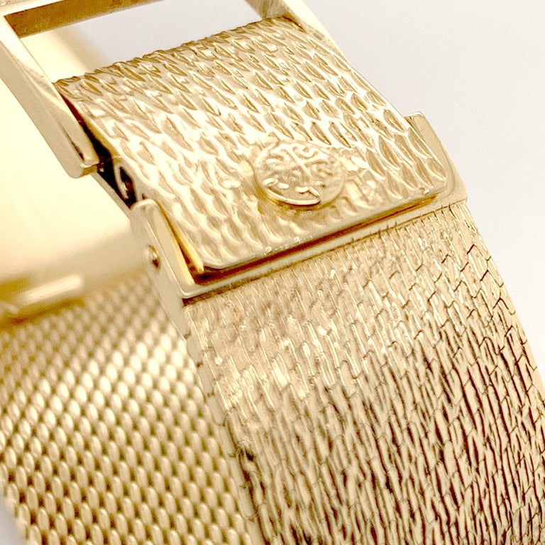 Patek Philippe Yellow Gold Wristwatch For Sale 1