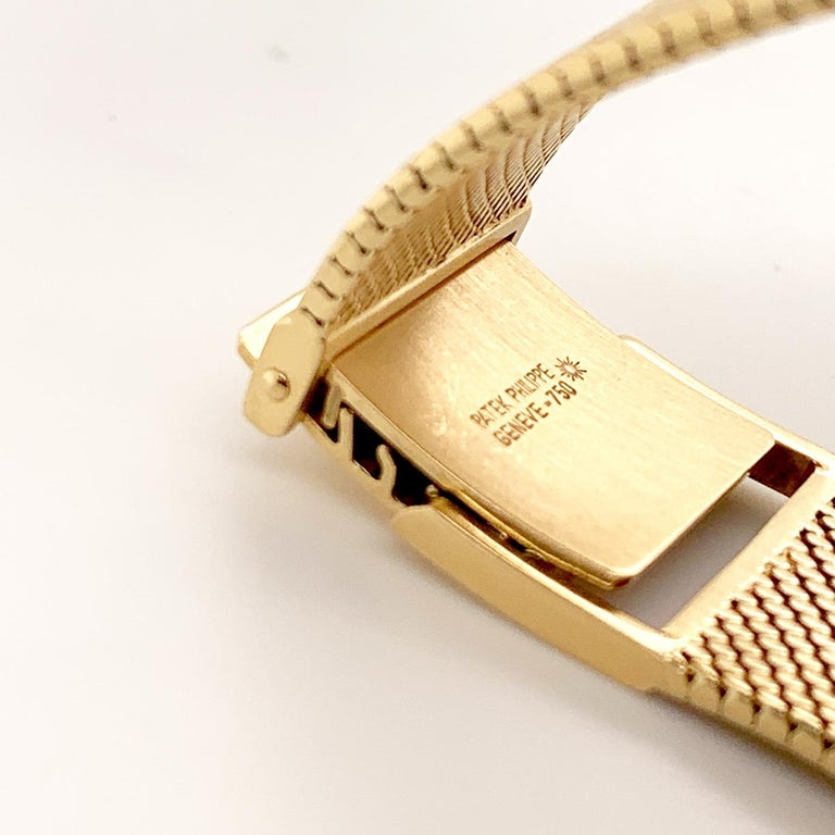 Patek Philippe Yellow Gold Wristwatch For Sale 2