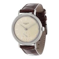 Patek Philippe 3419A Stainless Steel Calatrava Watch