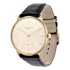 Patek Philippe 3420J Calatrava Watch 27-400 A Magnetic Movement Circa 1964