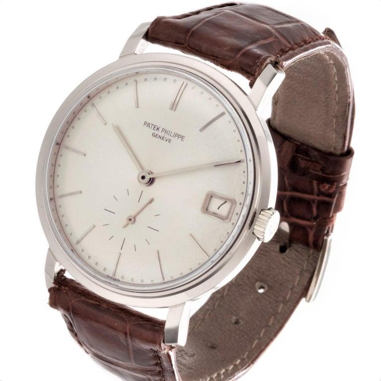 Patek Philippe 3445G Automatic Calatrava Watch For Sale 1