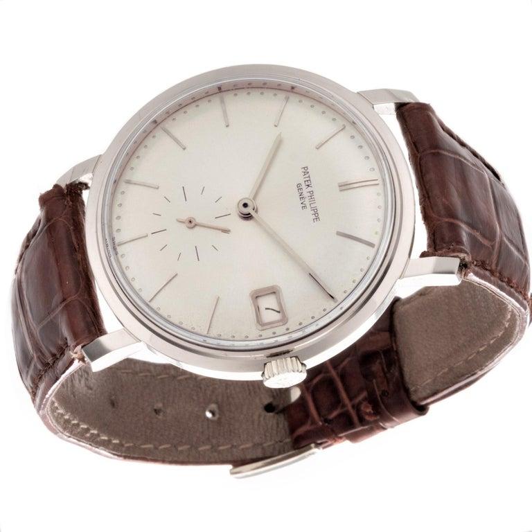 Patek Philippe 3445G Automatic Calatrava Watch For Sale 3