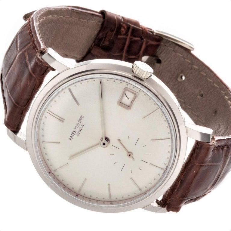 Patek Philippe 3445G Automatic Calatrava Watch For Sale 5