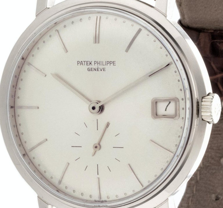 Patek Philippe 3445G Automatic Calatrava Watch For Sale 6