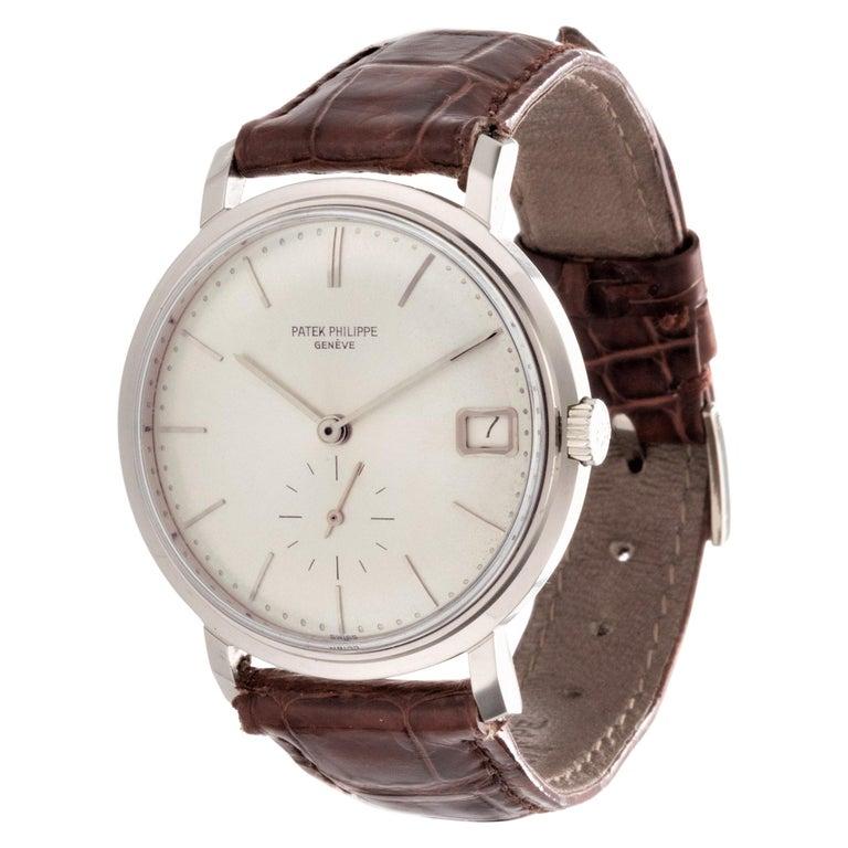 Patek Philippe 3445G Automatic Calatrava Watch For Sale