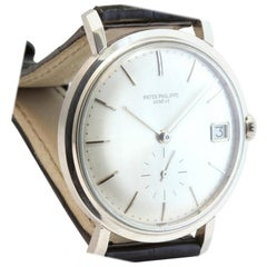 Patek Philippe 3445G Vintage White Gold Automatic Self Winding Watch