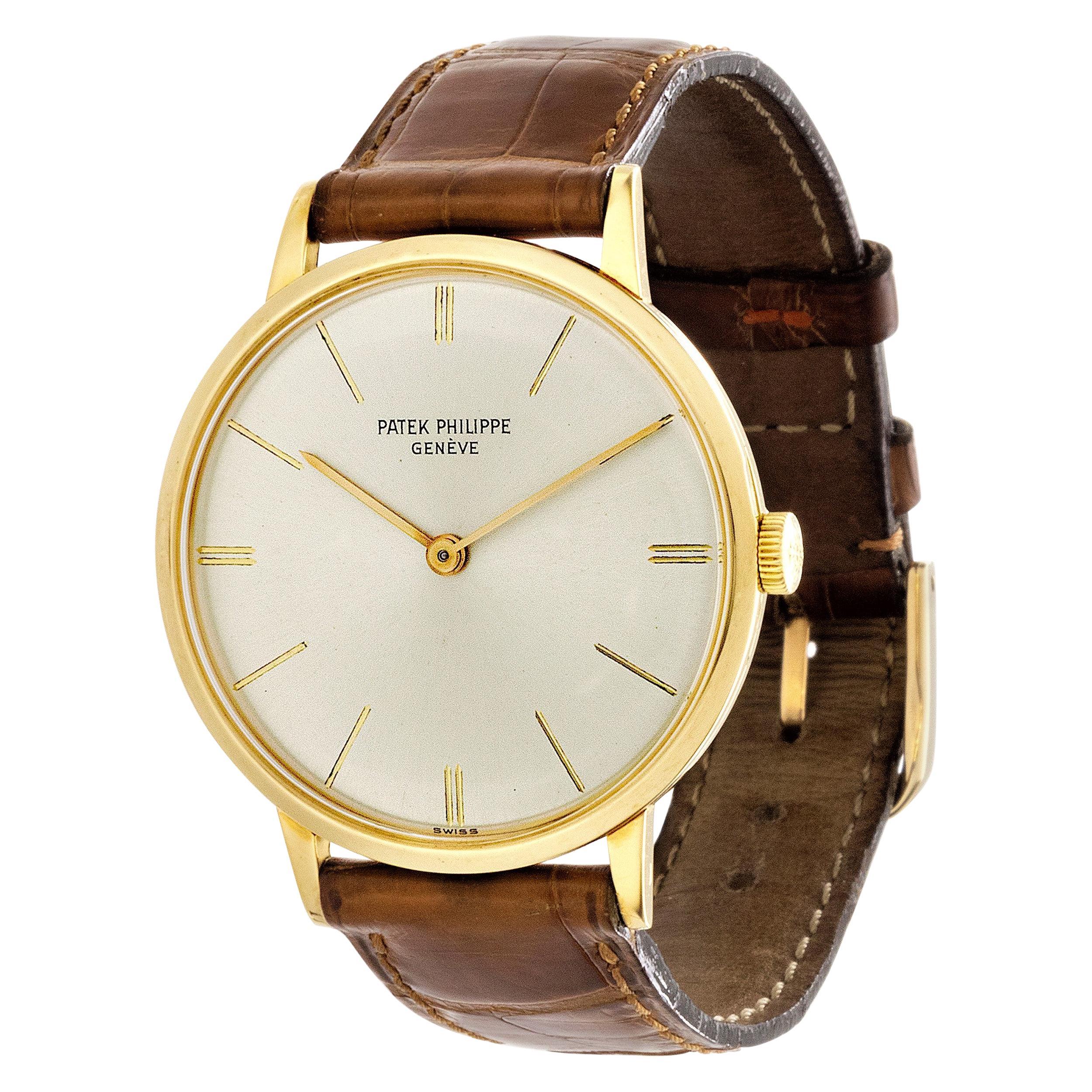 Patek Philippe 3468J Calatrava Watch