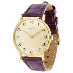 Patek Philippe 3512J Calatrava Extra Thin Watch Circa 1967