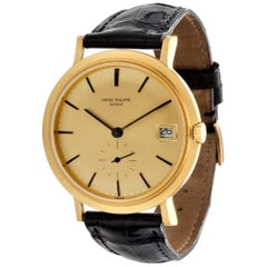 Patek Philippe 3541J Automatic Screw Down Back, Calatrava Watch, circa 1968